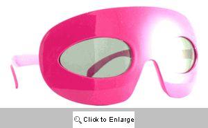 Zorro Retro Mask Sunglasses - 365 Pink