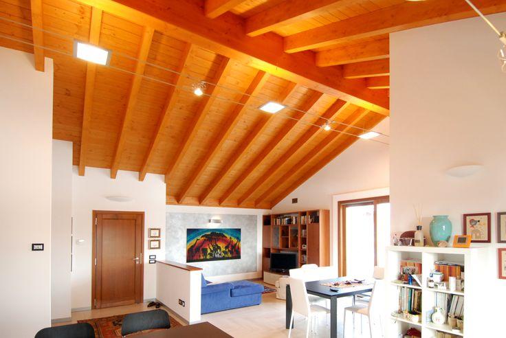 Case in legno - Interni - Sala Guido Legnami