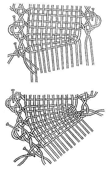 """Книга: """"Старинные секреты плетения кружев"""" (глава 4.4, начало)"""