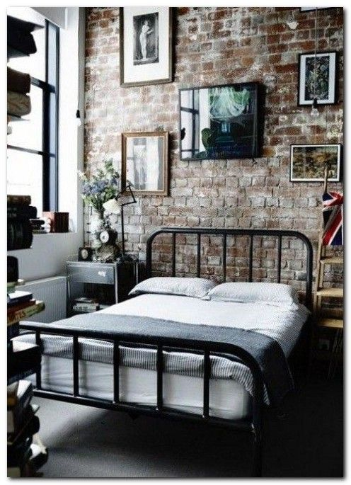 90 industrial chic bedroom designs you will be love