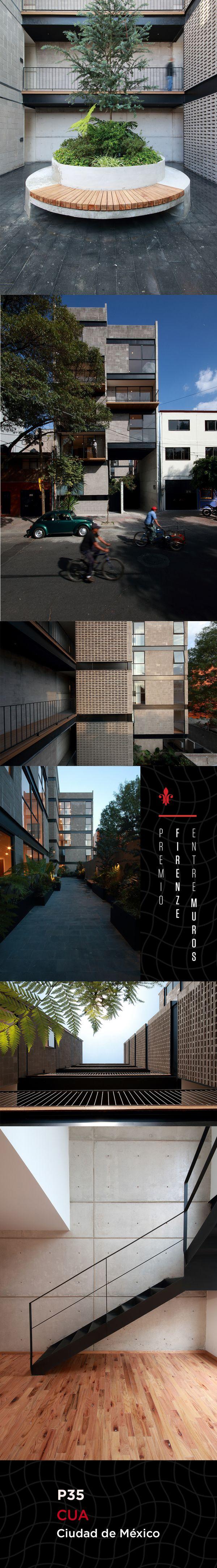Este desarrollo cuenta con 10 departamentos distribuidos en dos edificaciones conectadas por puentes y un núcleo de circulaciones verticales. Cada unidad es diferente, para distintos tipos de usuario, aunque el concepto es vivir los espacios de dentro hacia afuera.