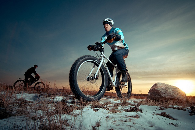 Ooooh! Try out Fat Bike riding! This looks like a blast!  :)