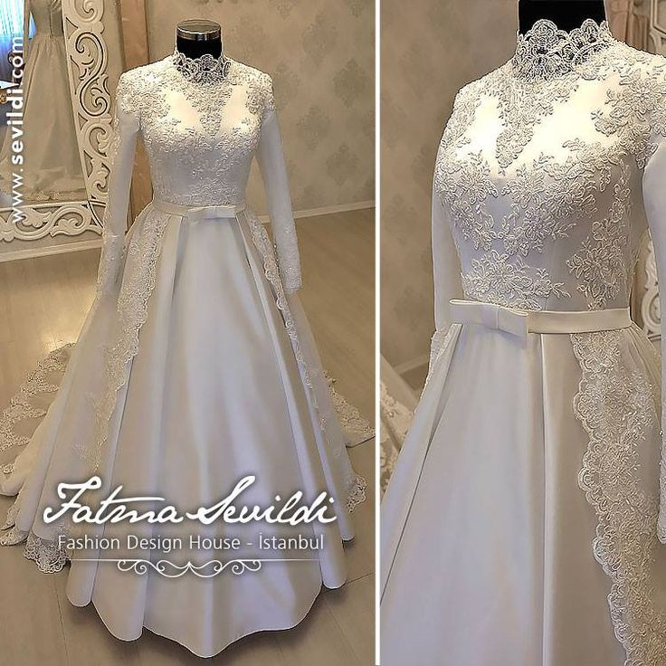 Simple and sweet gown