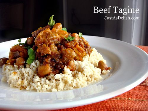 Moroccan Beef Tagine with Couscous