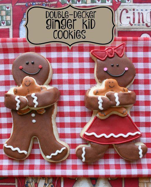 Double-decker Ginger Kid Cookies