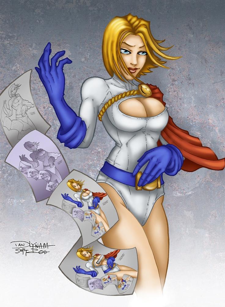 Powergirl by ~faceaway