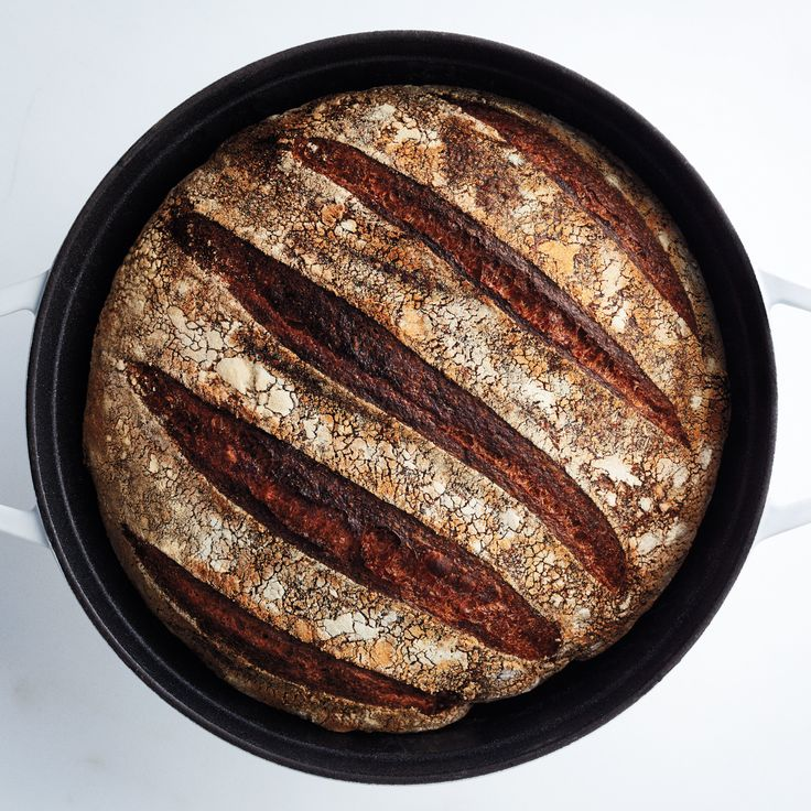 This bread has a nutty flavor and intense chew; it makes toast that's a wholesome meal unto itself. To ensure you have fresh bread on time, count back three nights from the day you want to bake. If you want bread on Saturday, start Wednesday night. Bake it anytime Saturday. This is part of BA's Best, a collection of our essential recipes.