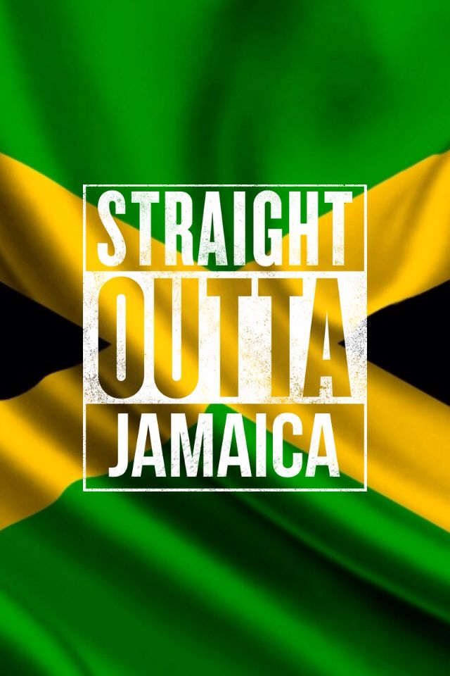 Jamaican Flag w/The Straight outta meme app