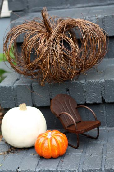 Grapevine pumpkin how to