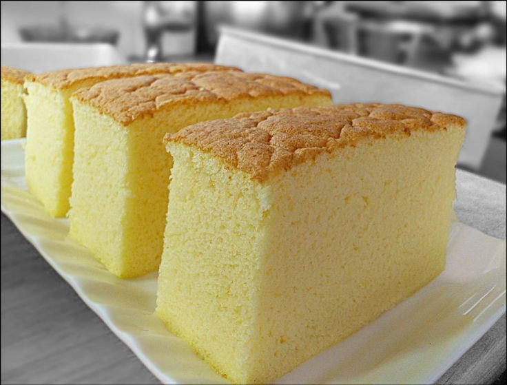 Soft and moist cake