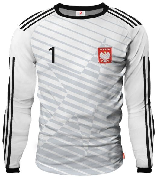 LIGA REAL Goalkeeper Jersey With Custom Name And Number white