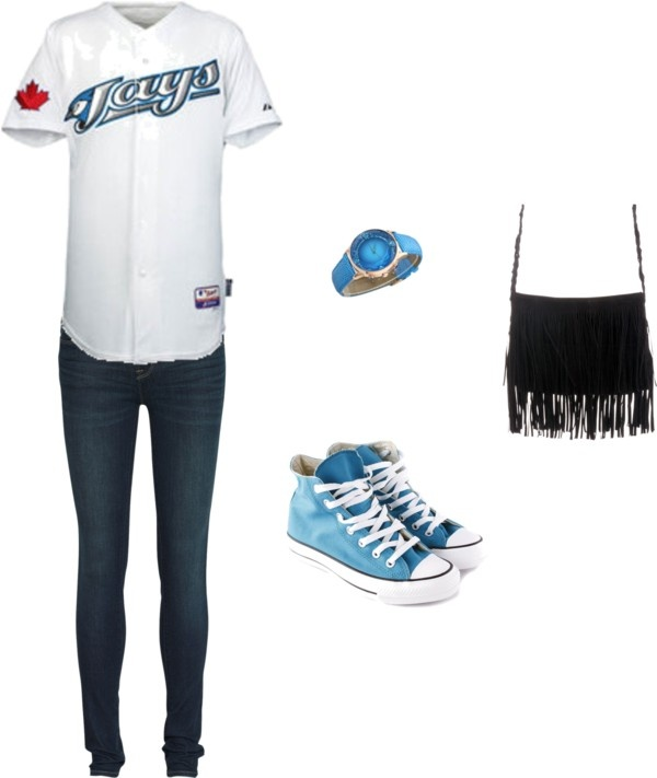 """""""Toronto Blue Jays Game"""" by hawks88 on Polyvore"""