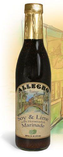 Allegro Marinade - Vintage Soy & Lime Marinade
