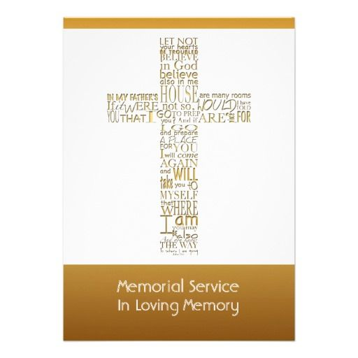38 best Religious Funeral Announcement images on Pinterest - funeral announcement sample