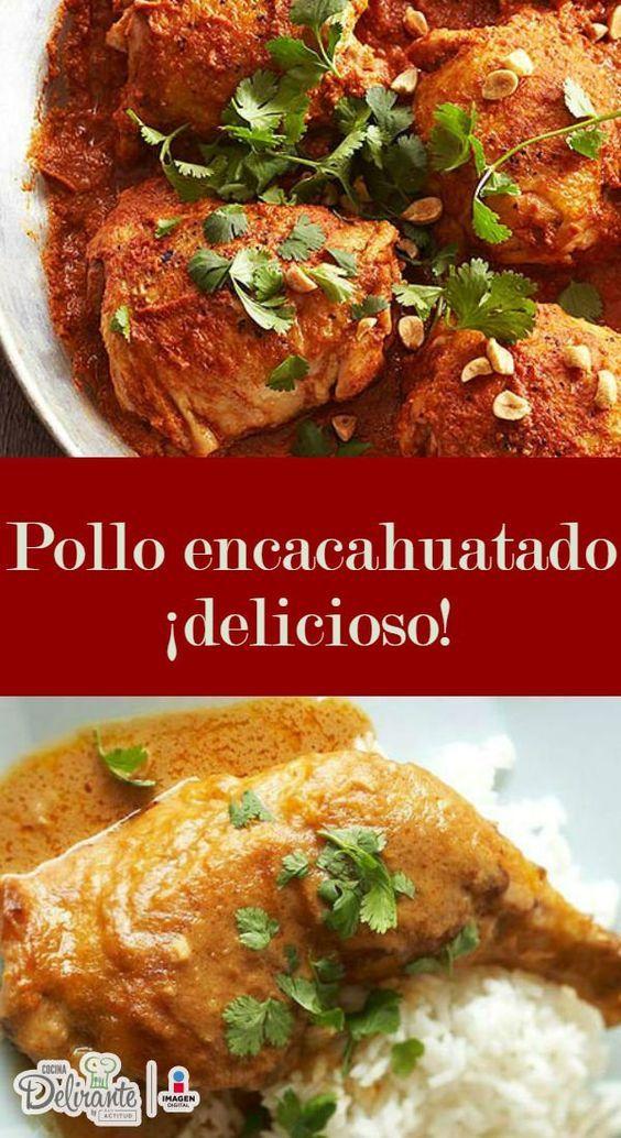 Pollo encacahuatado | CocinaDelirante