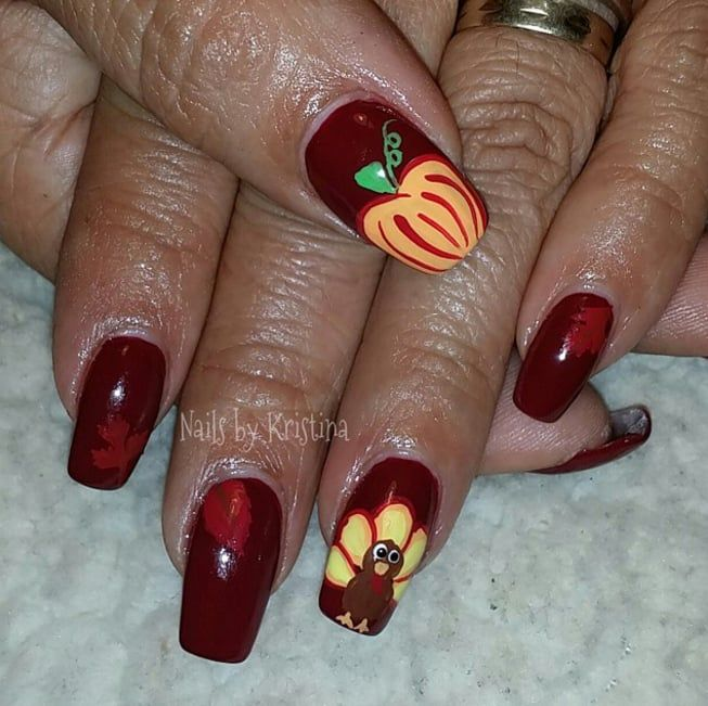 25 unique thanksgiving nail art ideas on pinterest thanksgiving 25 unique thanksgiving nail art ideas on pinterest thanksgiving nail designs thanksgiving nails and fall nail art prinsesfo Gallery