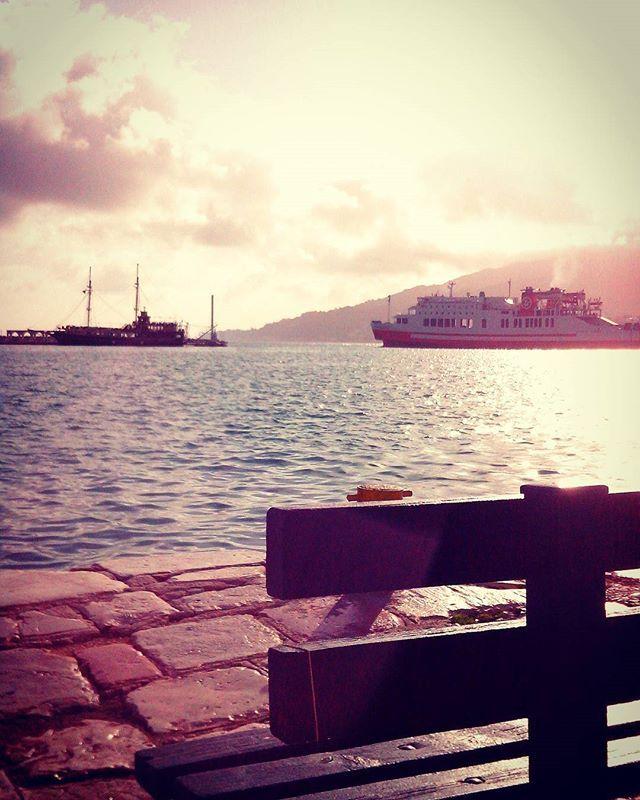 Beautiful morning at the port! #Zante #Zakynthos Photo credits: @elpida_nd