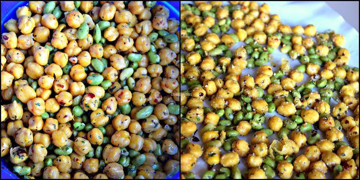 Chickpea & Edamame Crispies - Cookilicious