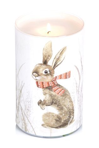 Festive Fragranced Pillar Candle
