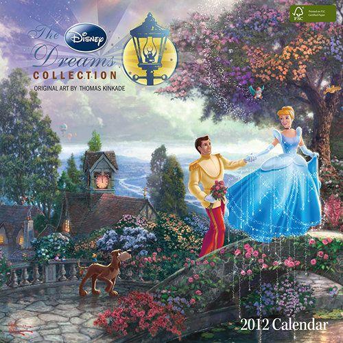 Thomas Kinkade Disney Calendar