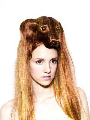 Nagi Noda Animal Hair Hats. Women's best friend? her hair dresser