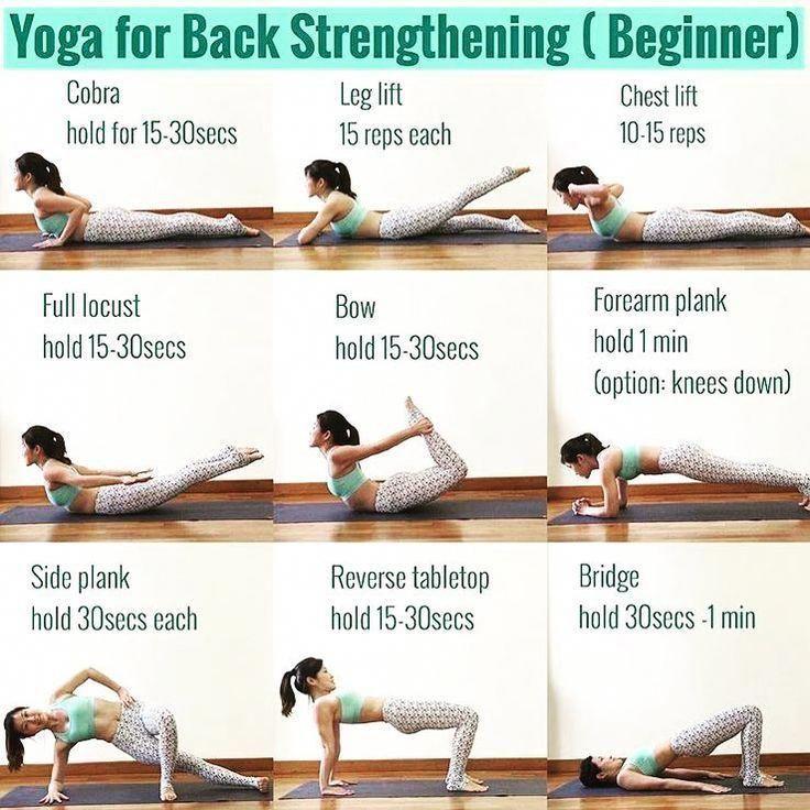 Pin By Nayeli Olvera On Yoga And Stretching Exercises For Flexibility And Fitness Strengthening Yoga Yoga Poses For Back Yoga Benefits