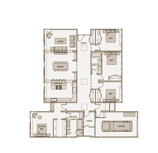 Stillwater dwellings floor plan model sd143 this one for 2600 sq ft house plans