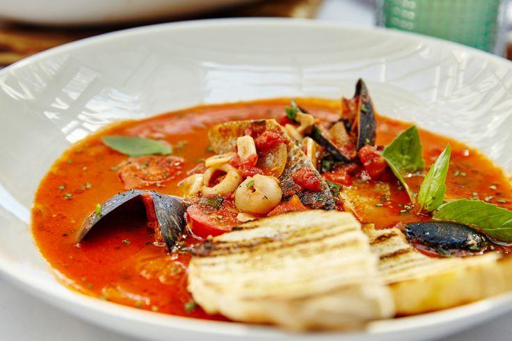 Новые красочные блюда из нашего меню #terrassa #food #seafood #soup  #ginza #ginzaproject #tasty #summer