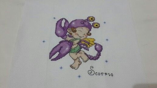 #zodiac #scorpio #crossstitch #crossstitcher #crosstitchlove #crossstitchcrazy #cross_stitch #crossstitchindonesia #dmc #embroidery #handmade #needlecraft #needlework #projects #pixelart #stitch #sewing #xstitch #sulam #kristik #instacrossstitch #hobby