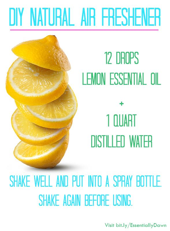 10 ways to use lemon essential oil for a clean natural home easy recipes home and natural air. Black Bedroom Furniture Sets. Home Design Ideas
