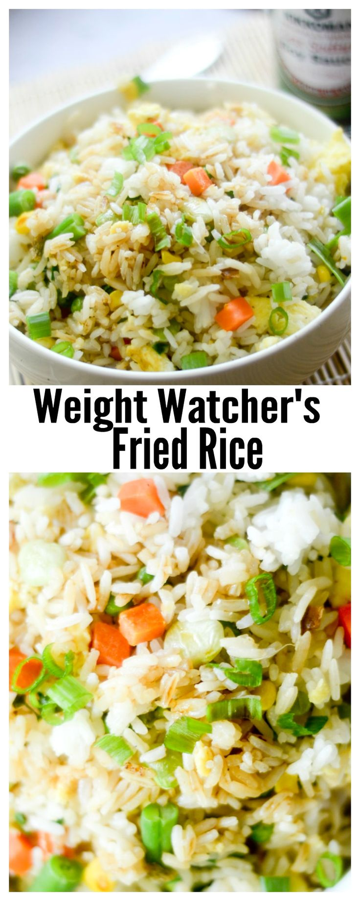 Weight Watcher's Fried Rice - Recipe Diaries #rice