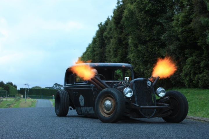 real flames!! | Rat Rods | Pinterest | Hot rods, Cars and Cool cars