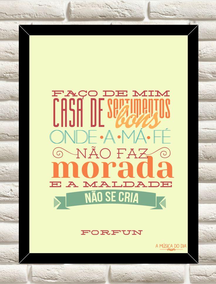 imacards:  Quadro Morada - ForfunEm parceria com A música do DiaClique aqui para comprar.
