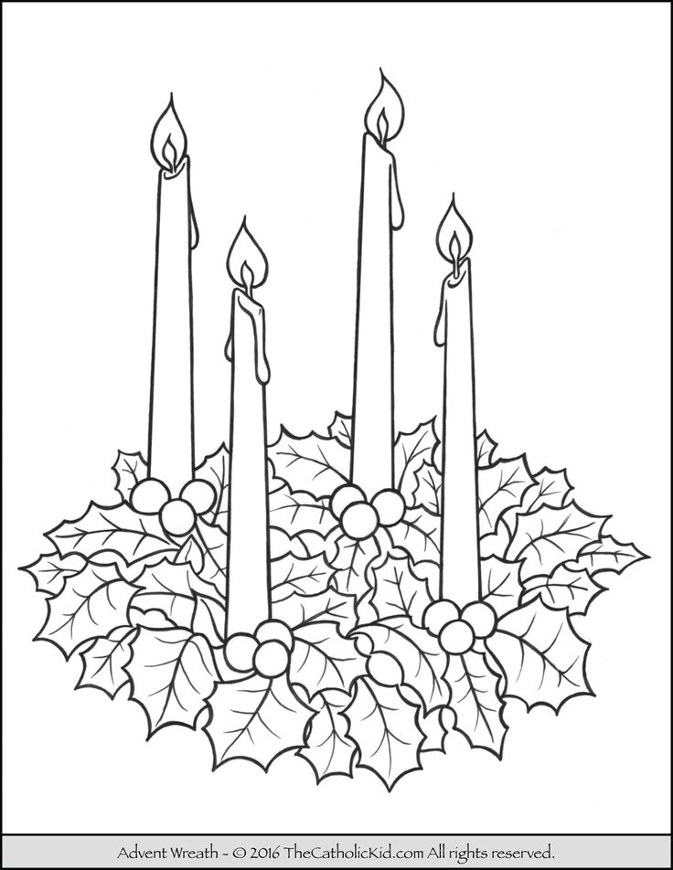 17 best images about catholic coloring pages for kids on for Printable advent coloring pages