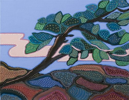 'Pineswept' by Kawartha Ontario painter & poet Annabelle Jane Murray. A…