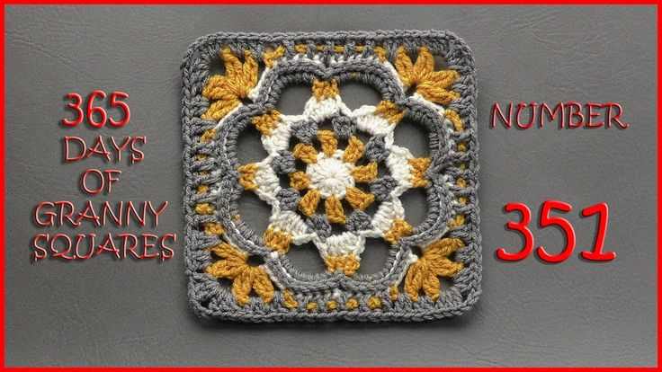 365 Days of Granny Squares Number 351