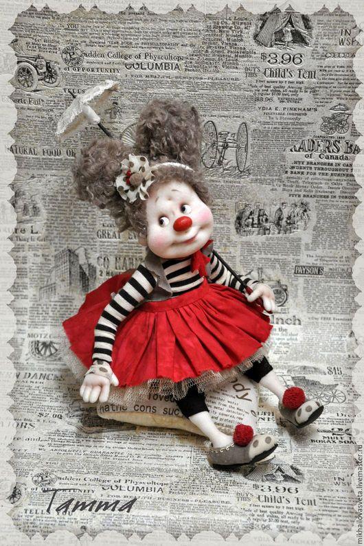 Коллекционные куклы ручной работы. Ярмарка Мастеров - ручная работа. Купить Татта. Handmade. Чёрно-белый, подарок, яркий