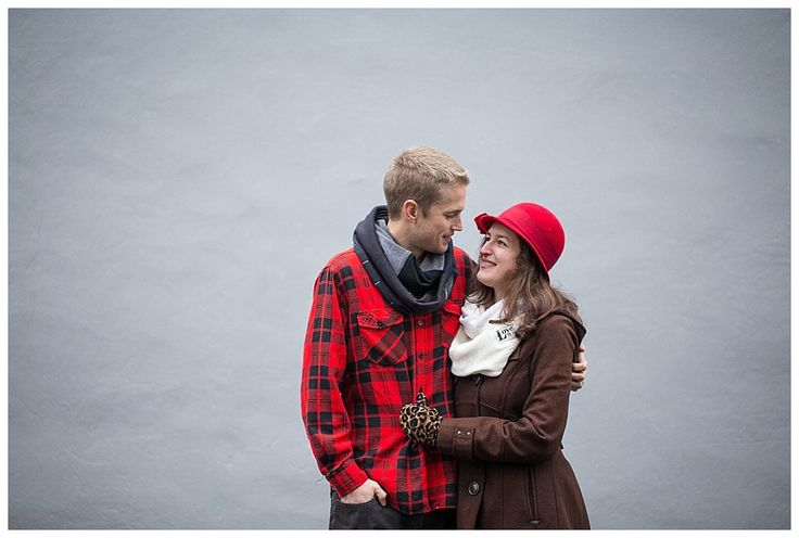 Binding love scarves, upcycled repurposed fashion by Melissa Engle Photography / Lancaster City couple winter photo shoot