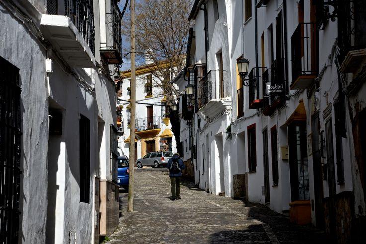 Small road in Ronda. photo: Dennis Faro