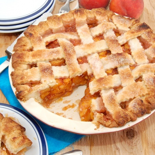 ... aka peach puzzle peach pie peach pie peach pie peach lattice pie 5