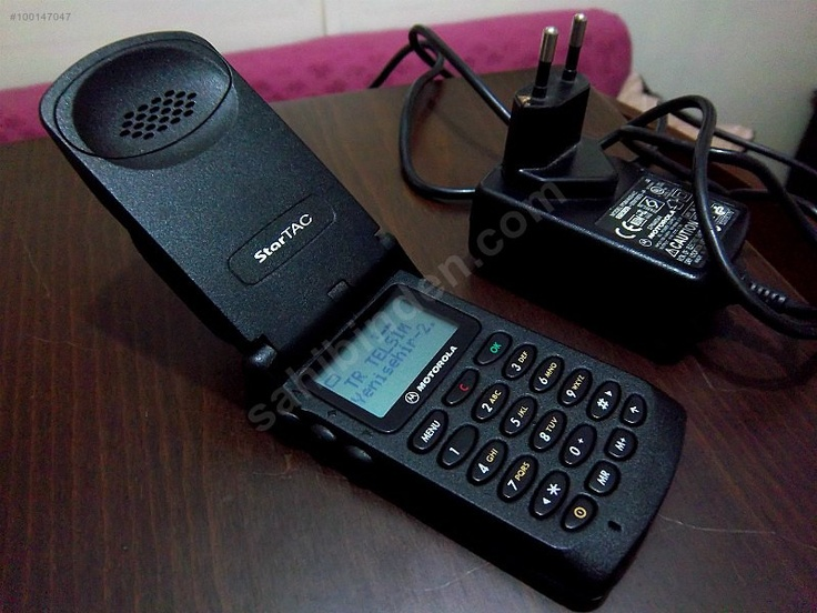Motorola Startac: The Motorola StarTAC is a clamshell mobile phone manufactured by Motorola. It was released on 3 January 1996, being the first ever clamshell/flip mobile phone.[1] The StarTAC is the successor of the MicroTAC, a semi-clamshell design that had been launched in 1989.