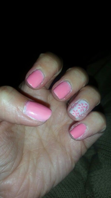 My nails,  cute♡