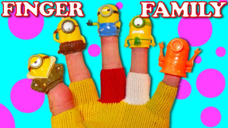 Finger Family Nursery Rhymes | Minions Finger Family Songs Collection | ...