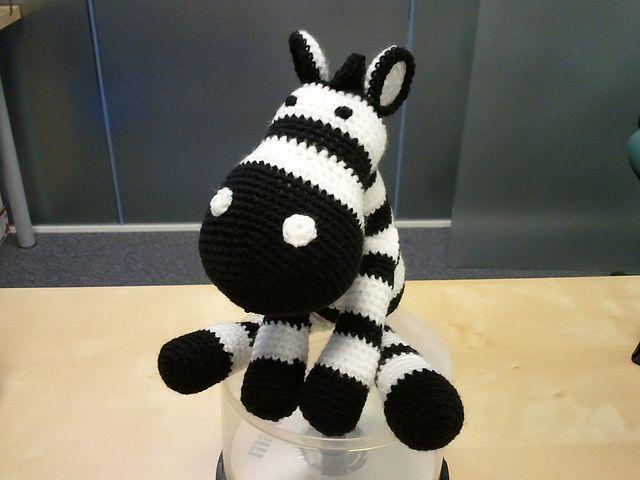 Zebra from free cow pattern