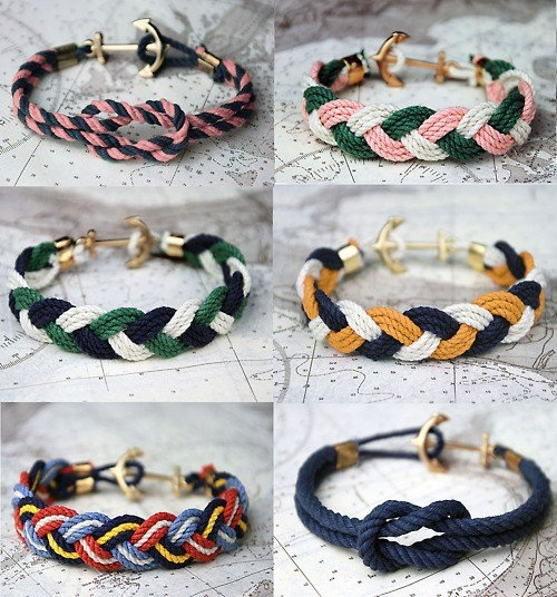 Kiel James Patrick handcrafted bracelets
