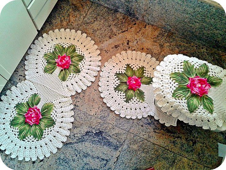 64 Best Croch 234 Banheiro Images On Pinterest Bathroom