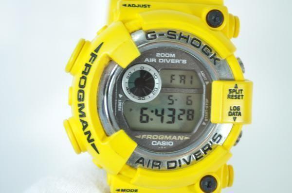 Casio G-Shock DW-8250Y-9T Frogman Yellow /Near Mint /Vintage ##PRICE SLASH## #Casio #Sport
