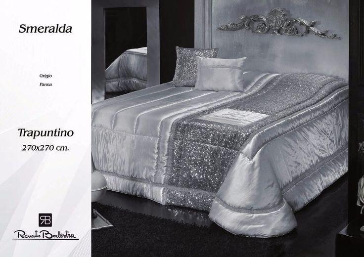 Copriletto SMERALDA Trapuntino Elegante Primaverile Renato Balestra Matrimoniale