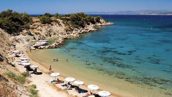 Pefki Beach Rhodes, Greece