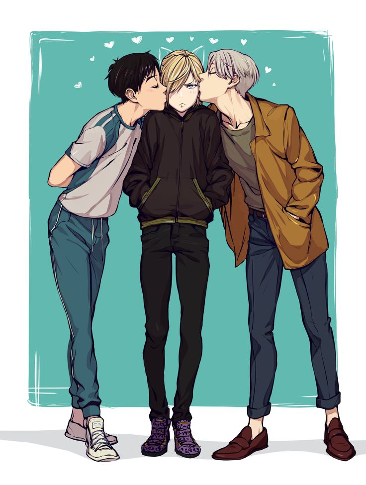 So damn cuuute I love them so much ;;; | HxH ♥ YOI ♥ TloZ ♥ JJBA